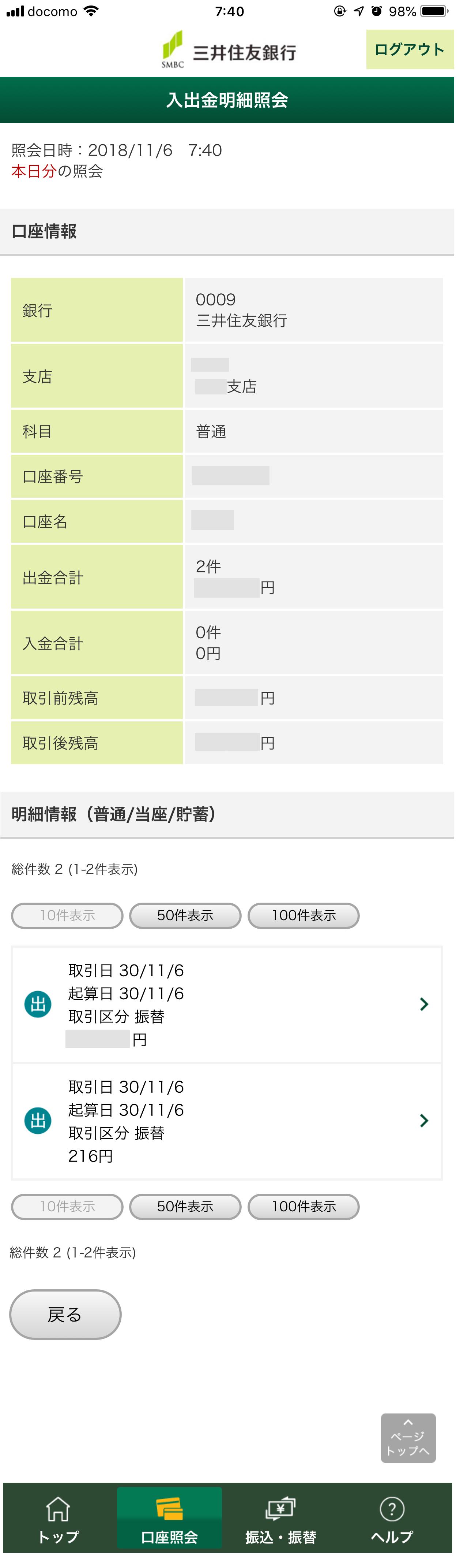 住友 法人 三井 銀行